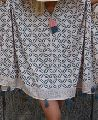 Coffee Bean Caftan Summer Dress with tassels