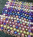 Multicolor Vintage Handmade Crochet Baby Throw Blanket