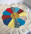 Vintage Crazy Quilt Table Cover