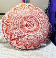 Cotton Floor Pillow Cover Hippie Cushions Cover