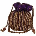 Beaded gift potli bag