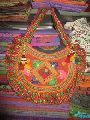Embroidered Tote Tribal Bag