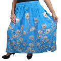 floral design women wrap skirt