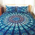 Indian Queen size cotton mandala duvet cover