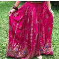 mandala women long wrap skirt
