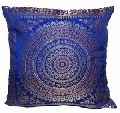 silk mandala cushion cover