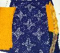 Satin cotton Bandhani Dress MATERIAL