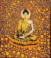 BED SHEET MEDITATION BUDDHA