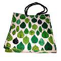 Leaf Bag Custom logo printed bag juco bag