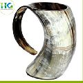 Viking Drinking Buffalo Horn Beer Mug