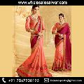 Chiffon Resham Work Fancy Sarees