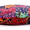 Mandala round throw pillow case sofa cushion cover