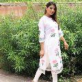 Womens mughal design straight kurties
