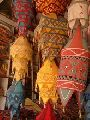 DECORATIVE FABRIC LAMP-SHADE