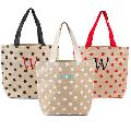 Reusable Bag Women Shopping Jute Burlap