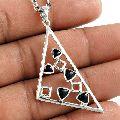 Best Quality 925 Sterling Silver Black Onyx Gemstone Pendant
