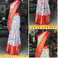 Pochampally Single Ikat Handloom Saree