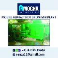 Mobile Drum Mix Asphalt Plant