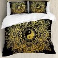 Gold Mandala Bedding Set Bed Cover