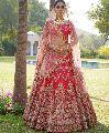 Banaras Silk Bridal Lehenga