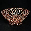 Aluminum Wire Weaving Round Storage Basket