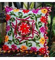 SUZANI EMBROIDERED DECORATIVE SOFA PILLOW CUSHION COVER BOHEMIAN BOHO DECOR