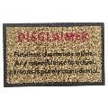 Coir Disclaimer Door Mats