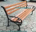 Cast Iron Park Patio Bench