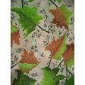 Leaf Print Fiber Sheets