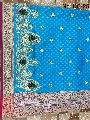 Nylon Kaju Buti Embroidered Sarees