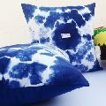2 Pcs Lot Beautiful And Natural Blue Color Hand Made Resist Dyeing Decorative Pillow Case