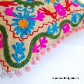 Embroidered 16X16 Indian Pillow Case SSTHSC01
