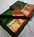 Designer Silk Cotton Handloom Saree