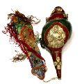 Handcrafted Engraved Blow Conch Shell Hindu Buddhism Tibetan Shankha
