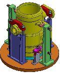 VTL-V Block & Turning Mechanical Fixtures