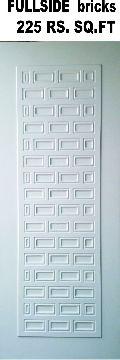 Full Side Brick Laminated Door