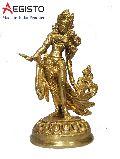 Brass Dancing Tara Statue