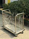 Stainless Steel Dirty Linen Trolley