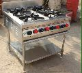 Stainless Steel Four Burner Gas Stoves