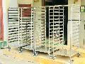 Stainless Steel Pan Rack Trolley