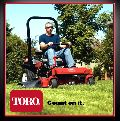Toro Ride on Lawn mower