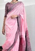 Handloom Pure Designer Khadi Saree going in for some new age stuff