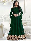 Designer Green Anarkali Salwar Suit at YOYO Fashion