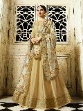 Designer Silk Fancy Party Wear Anarkali Salwar Suit