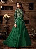 Exclusive Green Party Wear Anarkali Salwar Suit at YOYO Fashion