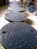 Round Black FRP Manhole Cover