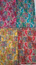 Rayon Printed Fabric FOR KURTI 140GMS