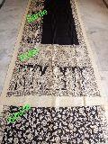 Madhubani Pantings-handmade Cotton sarees-13