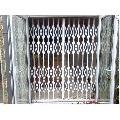 Galvanized Iron Collapsible Gates