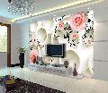 floral customised 3d wallpaper